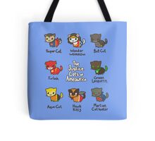 The Justice Cats of Ameowrica Tote Bag