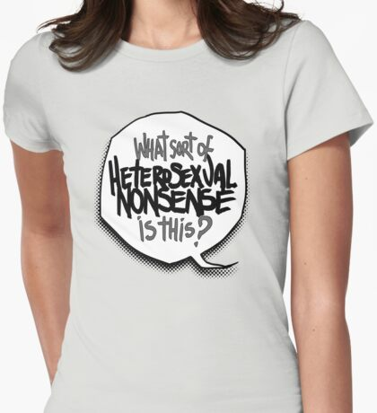 what nonsense Womens Fitted T-Shirt