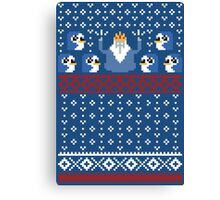 Christmas Time - Ugly Christmas Sweater Canvas Print
