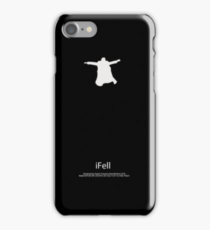 iFell Reichenbach fall iPhone Case/Skin