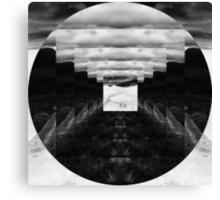 Inverted Square Circle Canvas Print