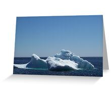 Iceberg ...near the beach Greeting Card
