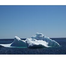 Iceberg ...near the beach Photographic Print