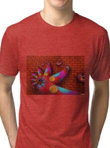 Climbing the Wall Tri-blend T-Shirt