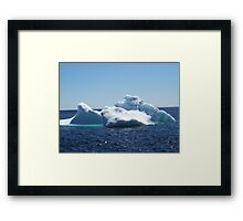 Iceberg...on close up Framed Print