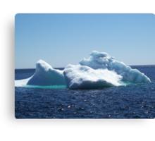 Iceberg...on close up Canvas Print
