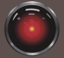 2001: A Space Odyssey - HAL 9000 by davidtoms