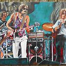 The Grateful Dead in Englishtown -Bobby Closeup by Kevin J Cooper