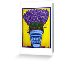 Colours of Provence Greeting Card