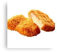 Chicken nugget Canvas Print
