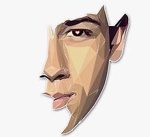 Nick Jonas Polygon Portrait by Haydn Rogan
