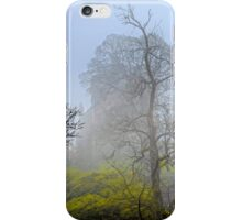 Castle Campbell in the fog iPhone Case/Skin