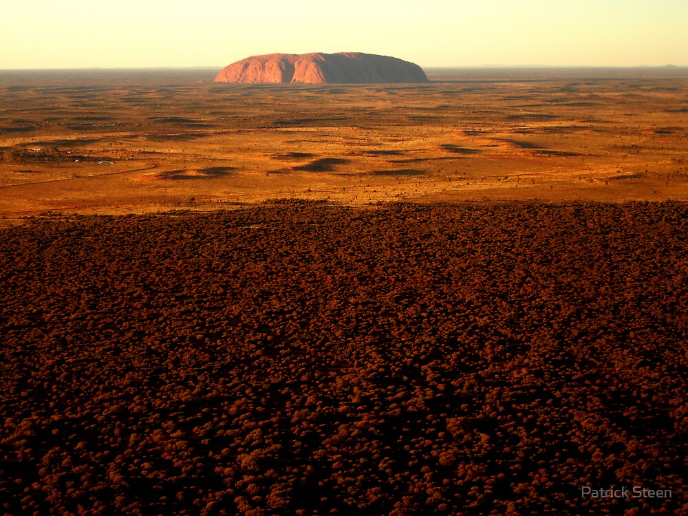 Uluru by Patrick Steen