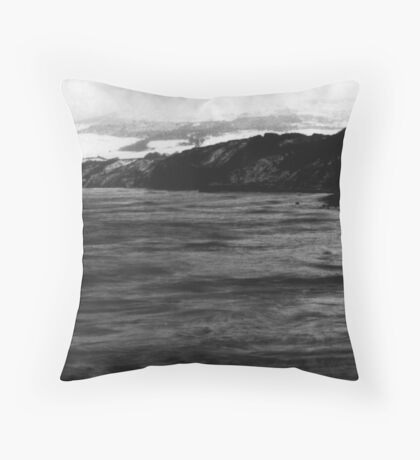 Winter - North Sea  Throw Pillow