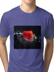 Red Pepper Splash Tri-blend T-Shirt