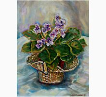 BEST SELLING CANADIAN PAINTINGS FLORAL STILL LIFE AFRICAN VIOLET BY CANADIAN ARTIST CAROLE SPANDAU Unisex T-Shirt