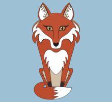 STARING FOX Baby Tee