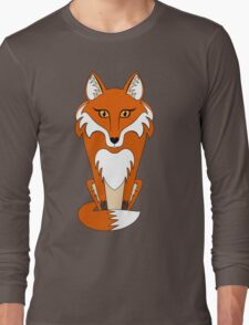 STARING FOX Long Sleeve T-Shirt