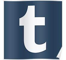 Tumblr Logo Poster