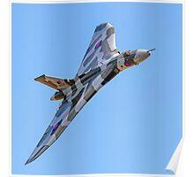 Avro Vulcan B.2 XH558 G-VLCN Poster