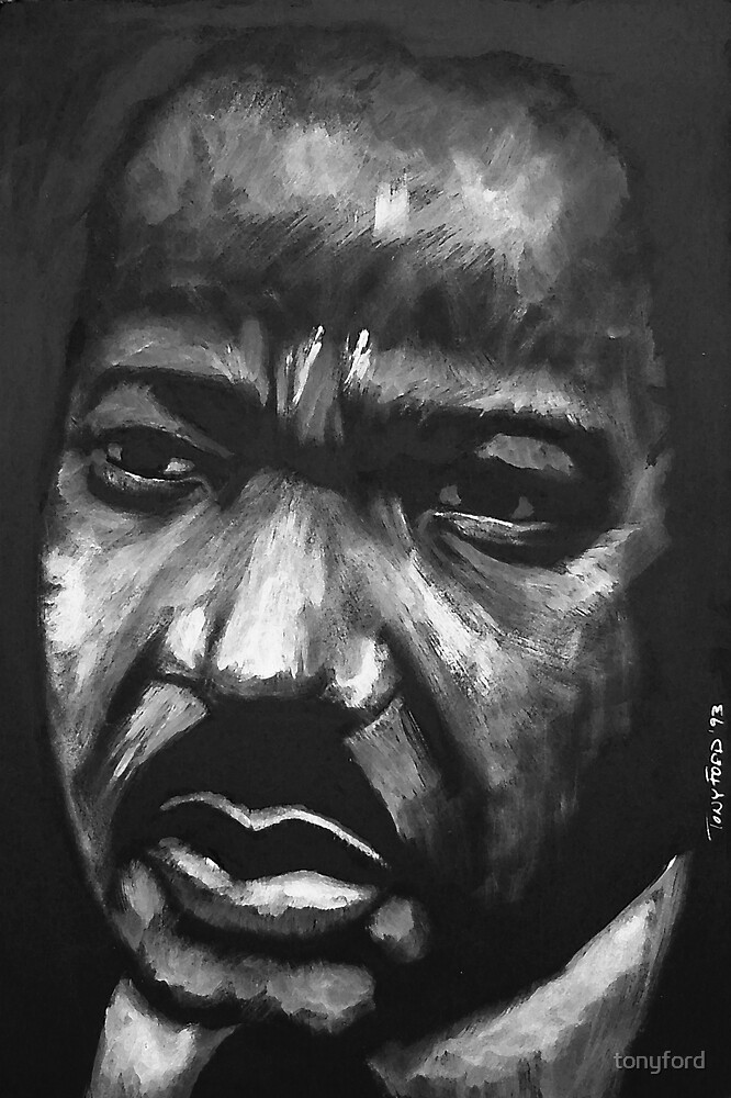 MLK Jr by tonyford