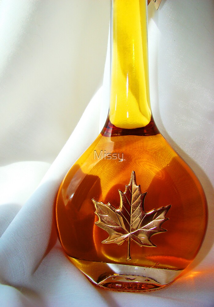 Bottle of honey by Missy