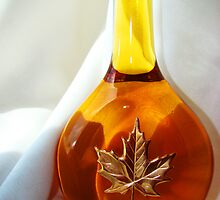 Bottle of honey by Missy