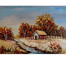 BEST SELLING CANADIAN LANDSCAPE PAINTINGS BY CANADIAN ARTIST CAROLE SPANDAU Photographic Print