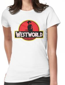 Westworld Jurassic Womens Fitted T-Shirt