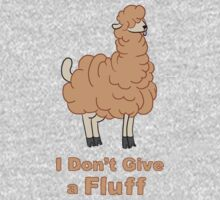 I Don't Give a Fluff Baby Tee