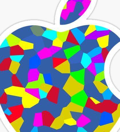 Apple Colorful Logo Sticker
