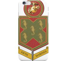 Fifth Marines Crest iPhone Case/Skin