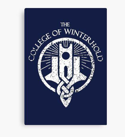 Skyrim - College of Winterhold Canvas Print