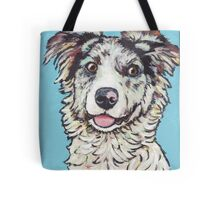 Australian Shepherd Pup Tote Bag