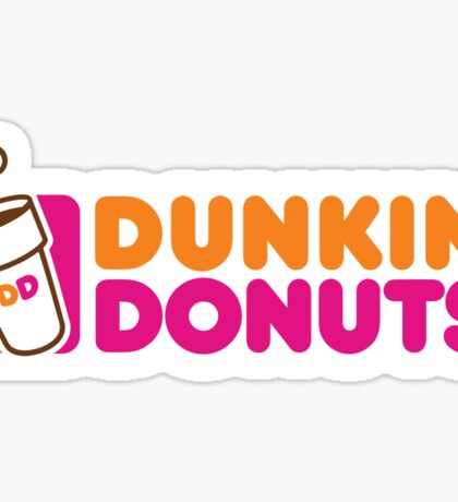 Dunkin' Donuts Sticker