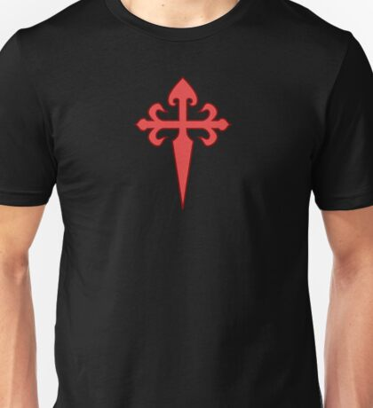 Order of Santiago, St. James Cross Unisex T-Shirt