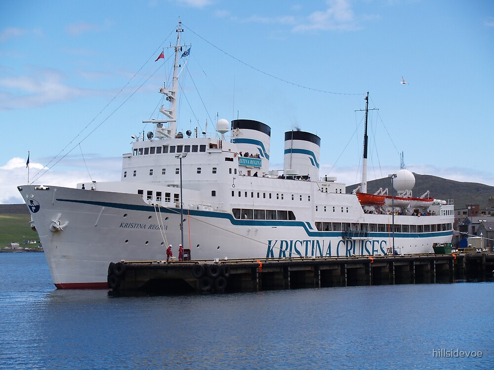 Cruise ship Kristina Regina by hillsidevoe
