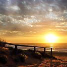 Sunrise at Narrabeen Beach NSW by Doug Cliff