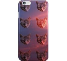 Colourful Kitty Cat Sky Lord iPhone Case/Skin