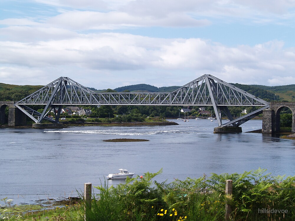 Connel bridge, by Oban Scotland. by hillsidevoe