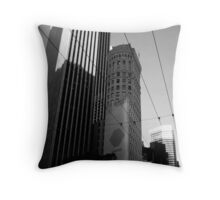 The Streets of  Throw Pillow