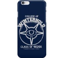 Winterhold College Graduate iPhone Case/Skin