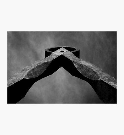 Dividers Mono Photographic Print