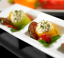 Stuffed Peppers by Christopher Parr
