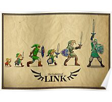 Evolution of Link Poster