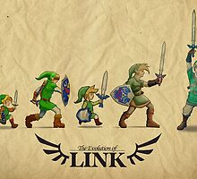 Evolution of Link by TimberRice