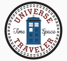 Doctor Who Converse Time Traveller Kids Tee