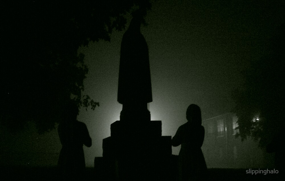 Prayers in the Fog by slippinghalo