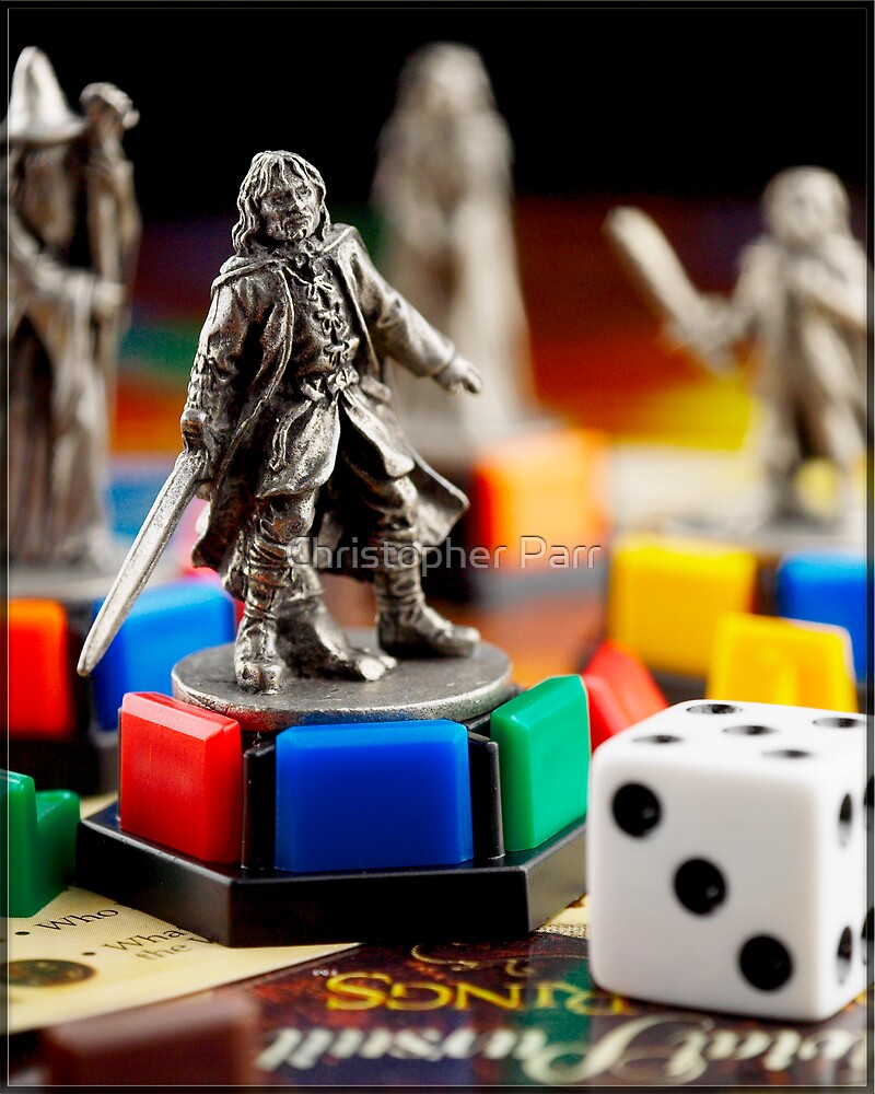 Lord of the Rings Trivial Pursuit by Christopher Parr