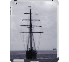 Tall Ship All Ahead iPad Case/Skin